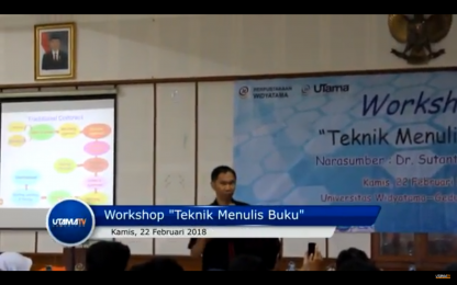 Workshop Teknik Menulis Buku
